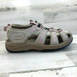 LL Bean Women's Floral Hiking Sport Sandals